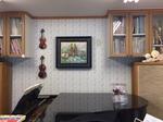 2つのヴァイオリンの油絵